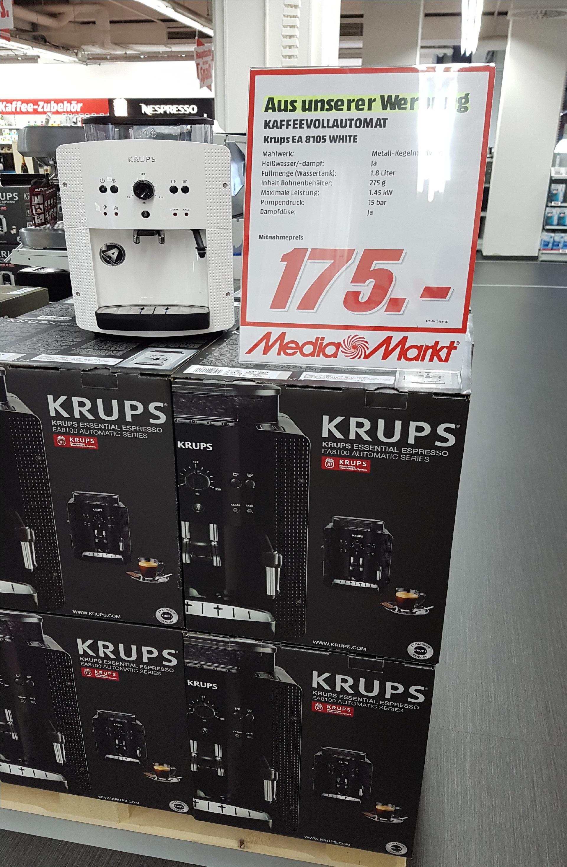 Krups EA 8105 Lokal Frankfurt Nordwestzentrum