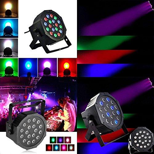 [AMAZON PRIME] Blusmart 18 LED Discolicht mit DMX Control für 11,96 statt 25,99€