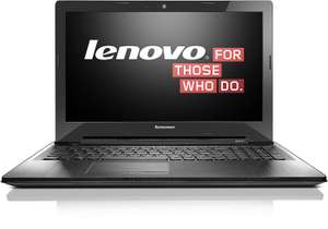 "Lenovo Z50-70 - Pentium 3558U 2x 1.7GHz, 4GB RAM, 256GB SSD, 15,6"" Full-HD - 280,61€ @ Amazon"