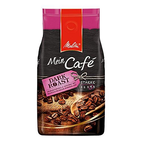 Melitta Ganze Kaffeebohnen, charaktervoll und intensiv mit Nuancen dunkler Schokolade 17% günstiger