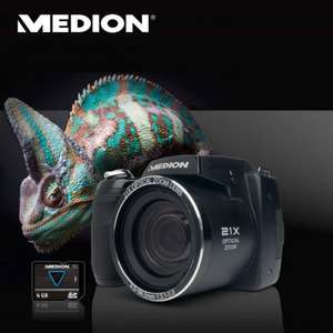 MEDION LIFE X44088 (MD 86888) 16.0 MP Superzoom-Kamera – Aldi ab 7.05.