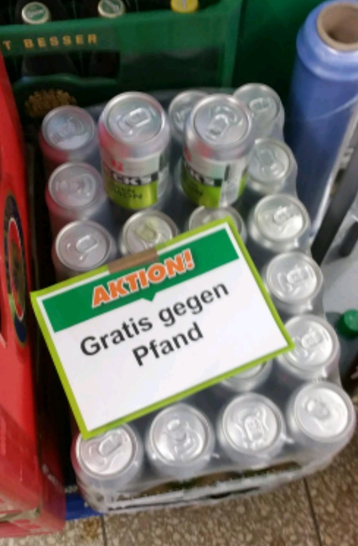 BECK'S GREEN LEMON 0,33l gratis gegen Pfand (lokal OB)