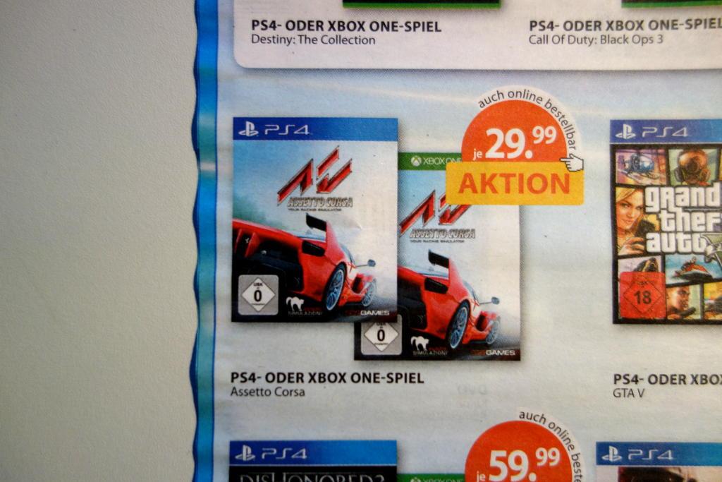 [Müller lokal & online] Assetto Corsa für PS4 & Xbox One