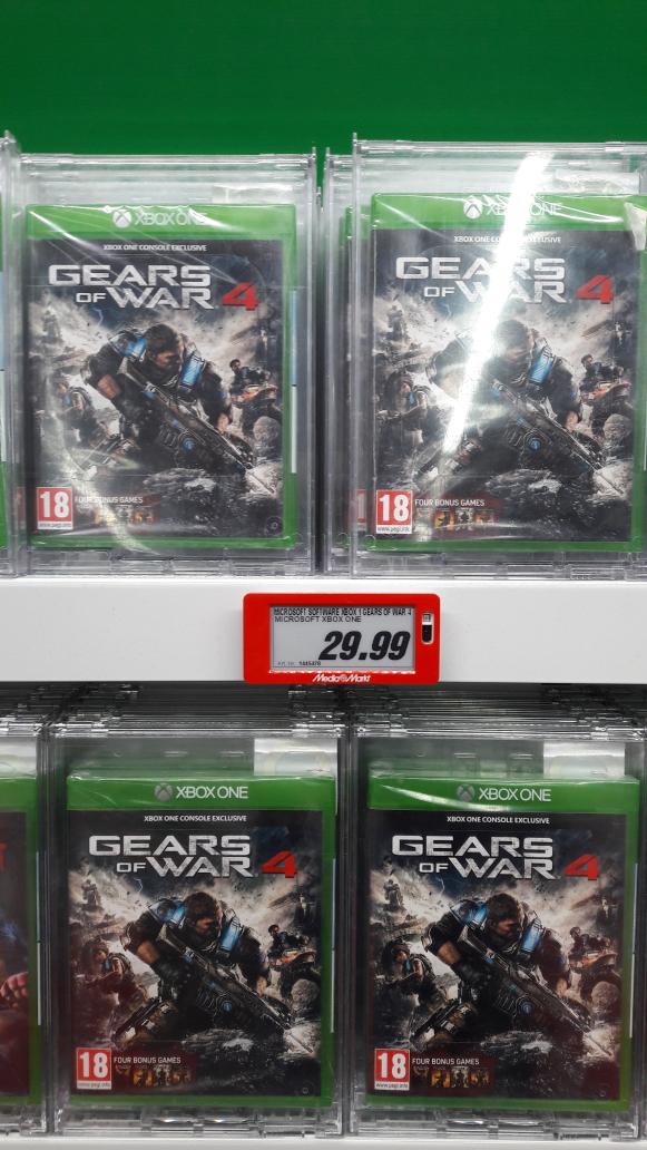 Gears of War 4 Media Markt Roermond 29,99 Euro nur lokal