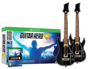 [fruugo.co.uk] Guitar Hero Live [XBOX One] inkl. 2 Gitarren - 7,37£ - ca. 8,60€ - PVG: 60€