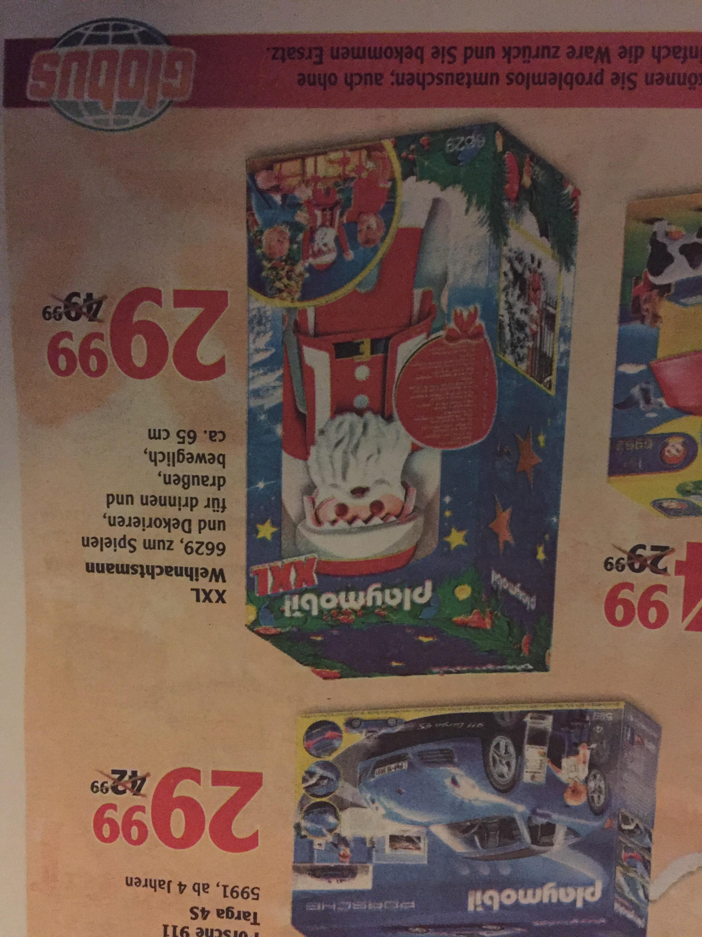 Playmobil XXL Weihnachtsmnn Globus Jena