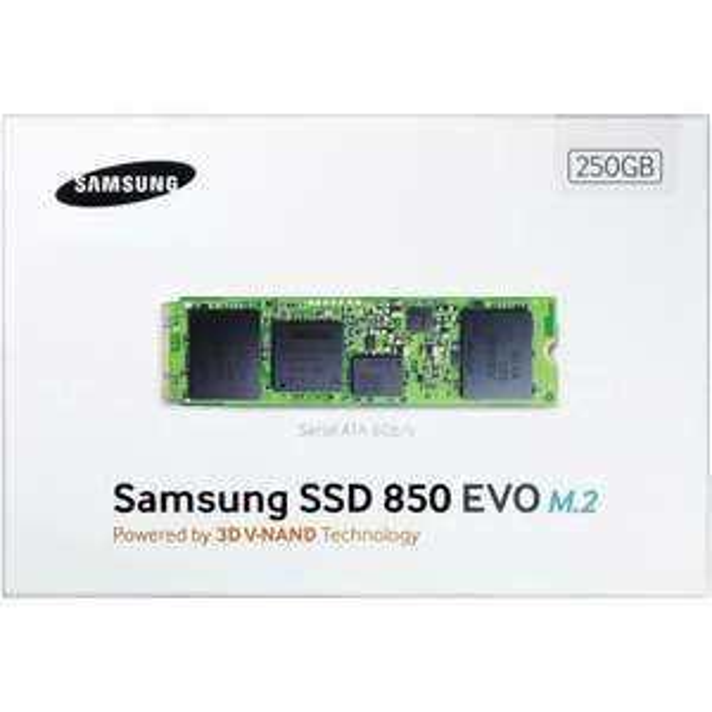 Samsung 850 EVO SSD M.2 250 GB