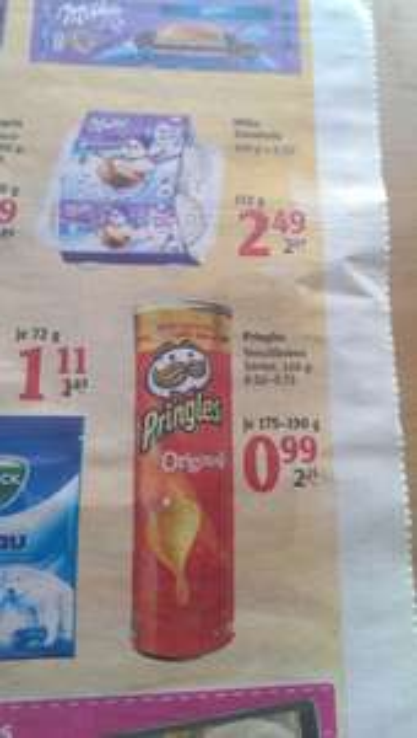 Globus Dutenhofen Pringles verschiedene Sorten für 0,99 €