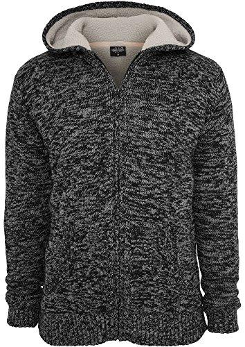 URBAN CLASSICS Winter Knit Zip Hoody TB408