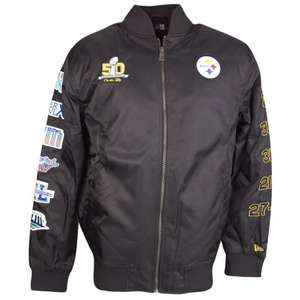 New Era Pittsburgh Steelers Superbowl 50 Jacke Größe S