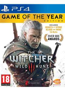 The Witcher 3 Wild Hunt - Game of the Year Edition (PS4) - 29,58 Euro inkl. Versand
