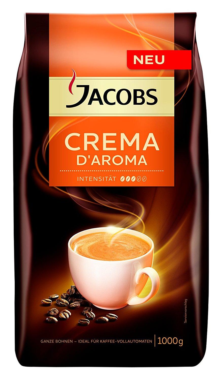 [Penny] Jacobs Crema D'Aroma oder Espresso D'Aroma ganze Kaffeebohnen 1 kg für 8,88€