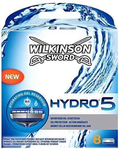 Wilkinson Sword Hydro 5 Rasierklingen, 8 Stück bei Amazon für 9,32 EUR + Versand