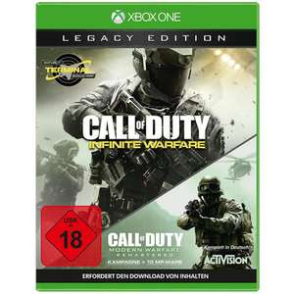 [mueller.de] Xbox One / PS4 | Call Of Duty: Infinite Warfare - Legacy Edition für 59,99 €