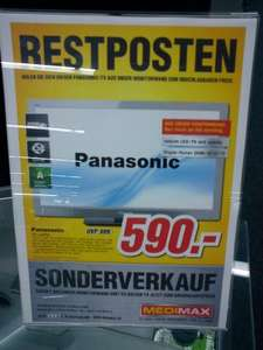 (LOKAL) Panasonic TX L 42 EF32 MediMax Meissen