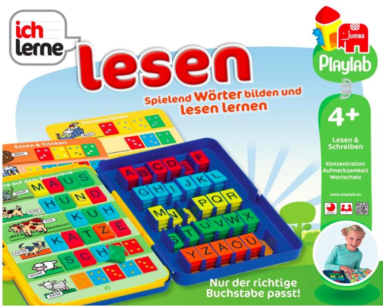 """Spiel """"Ich lerne Lesen"""" von Jumbo (18150) für 14,99€ mit [Amazon Prime]"""