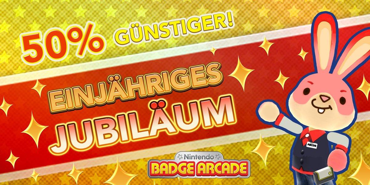 Jubiläums-Aktion in Nintendo Badge Arcade – Halbe Preise, viele Gratisrunden