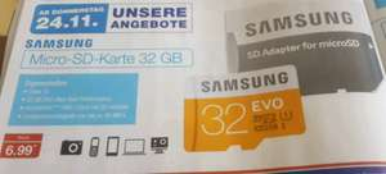 Aldi Nord - Micro SD Karte 32 GB UHS I