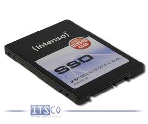 """Solid State Disk Intenso SATA SSD 256GB 2,5"""" 7mm Modell: 3812440 NEU & OVP"""