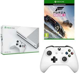 (Amazon.fr) Xbox One S + Forza Horizon 3 + 2. Controller für 305,80€
