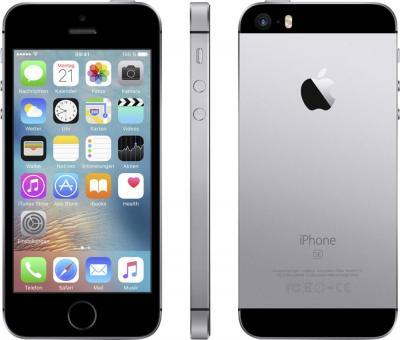 [SmarterPhones] Apple iPhone SE 64 GB spacegrau mit PAYPAL