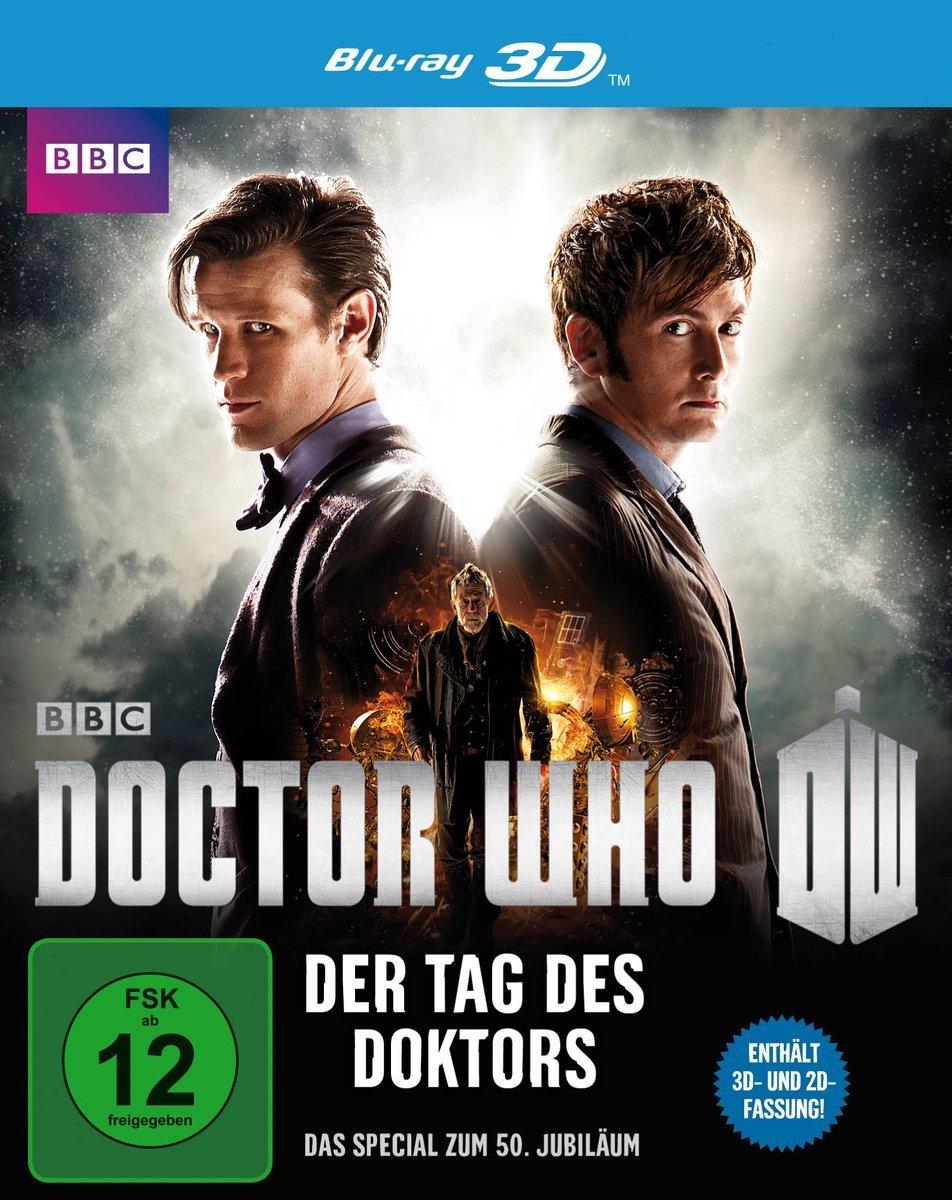 Doctor Who - Der Tag des Doktors (inkl. 2D-Version) [3D Blu-ray] für 6 € > [amazon.de] > Prime