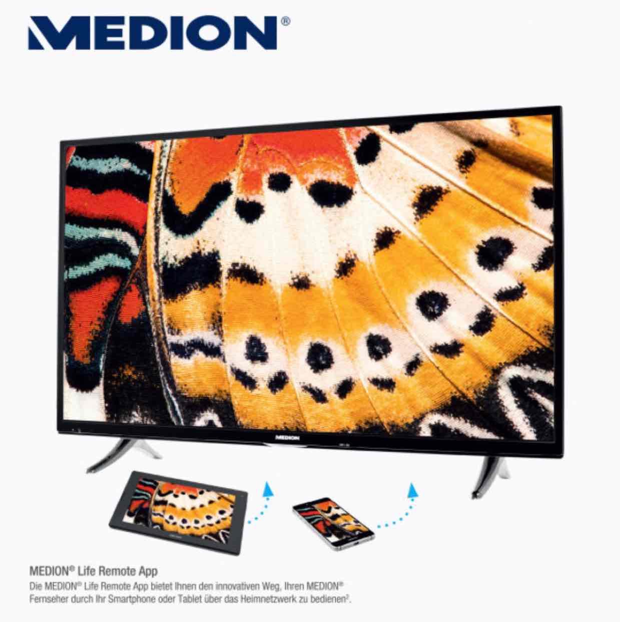 [ALDI-Nord] MEDION LIFE X18068 mit 55 Zoll und 4K