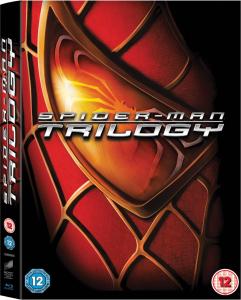 [Zavvi] Spider-Man Trilogie Blu-ray (Nur Teil 1 verfügt über dt. Ton und Untertitel!)