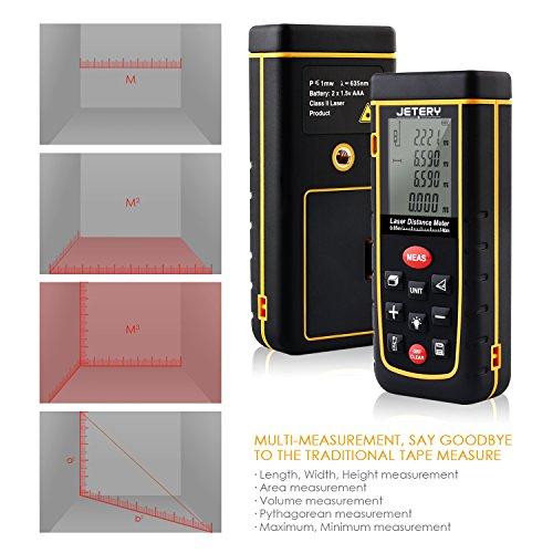 Amazon: 40m Laser-Entfernungsmesser mit Genauigkeit von 2mm