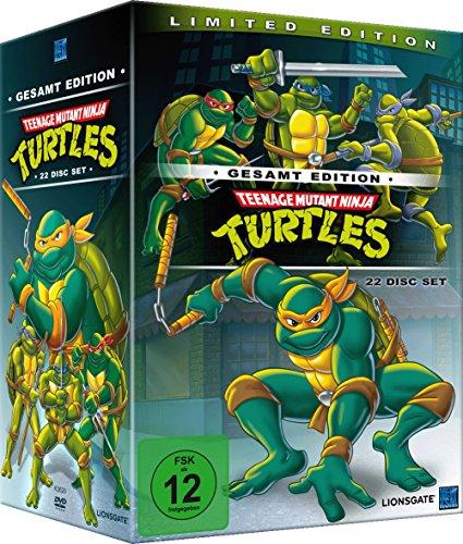 Teenage Mutant Ninja Turtles Gesamtedition 22 Disc Set für 29€ bei [Amazon]