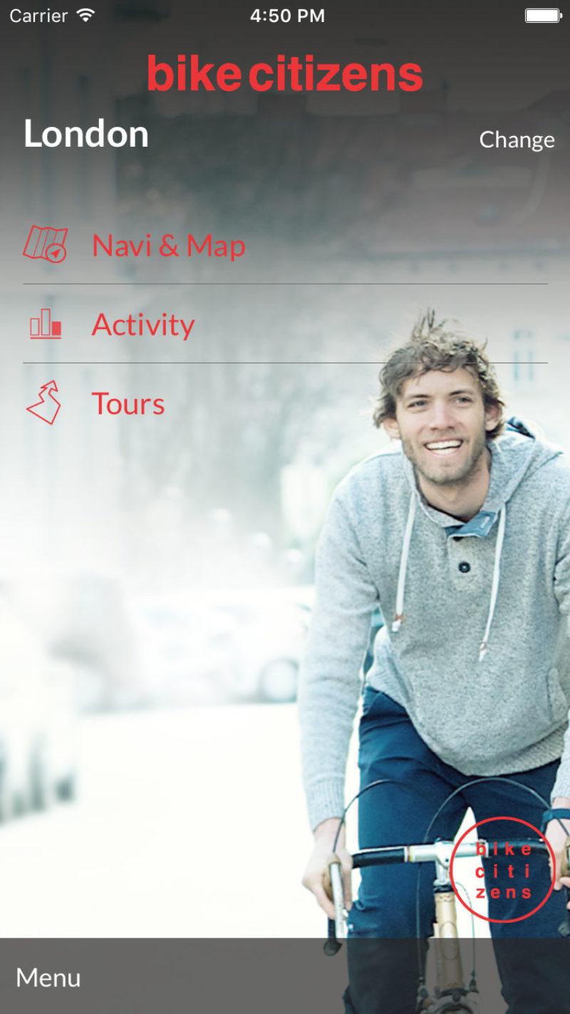 Bike Citizens Fahrad Navi App (iOS & Android): Kostenlose Pro-Version freiradeln