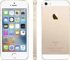 Apple iPhone SE 64 GB Gold (mit Vorkasse) bei smarterphonestore
