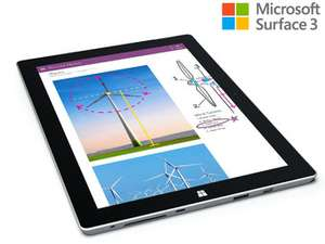 "(iBood.de) Microsoft Surface 3 Full HD 10,8"" Tablet – 128 GB, Refurbished"
