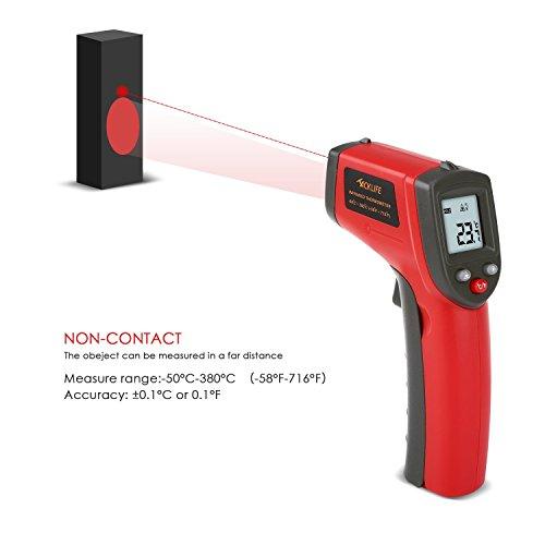 Tacklife Infrarot Thermometer -50 bis +380°C mit LCD Displaybeleuchtung auf Amazon reduziert.