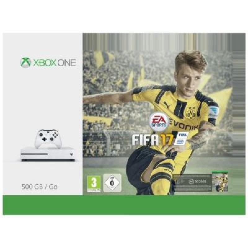 Microsoft Xbox One S 500GB FIFA 17 Bundle - für 259€ inkl. Versand bei Crowdfox