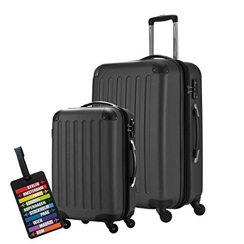 NEU! 2er Set Hauptstadtkoffer Spree in verschiedenen Farben, TSA, 65 cm (82l) + 55cm (49l Handgepäck) für 108,72€ statt 135,90€ [Amazon Blitzangebot]