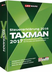 Steuersoftware Taxman 2017 (für Steuerjahr 2016) von Lexware Günstig bei EDV-Buchversand.de