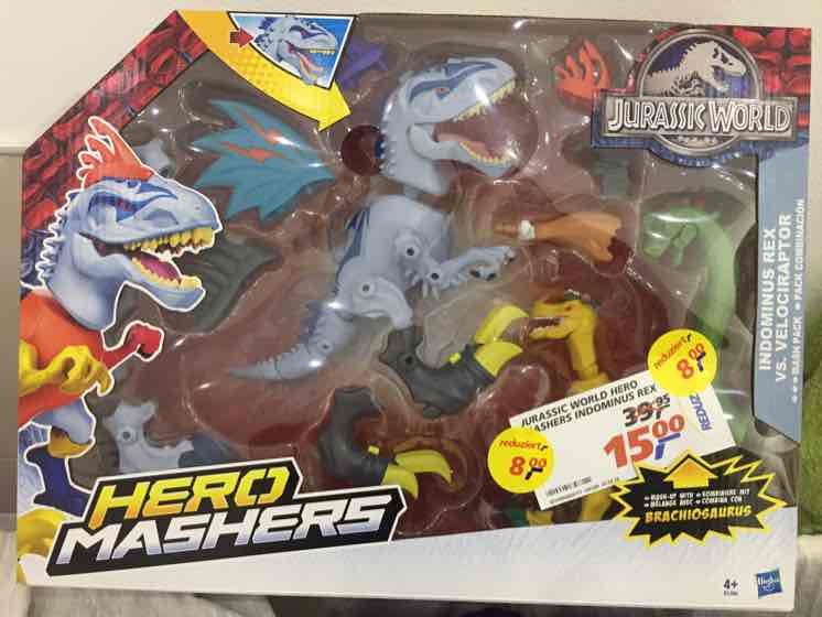 [real] Aschaffenburg - Jurassic World Hero Mashers B1388