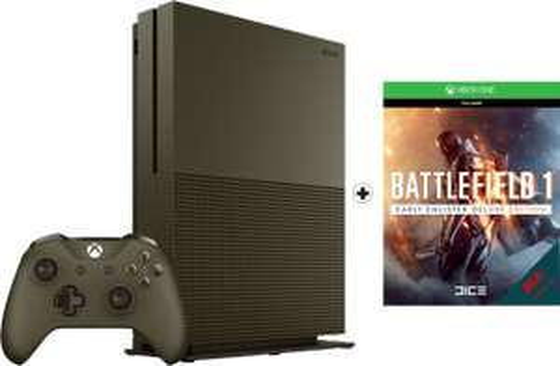 Microsoft Xbox One S 1TB + Battlefield 1 Special Edition für 299,99€ oder Xbox One S 500GB + Fifa 17 + Forza Horizon 3 für 254,99€ (Otto Neukunden)