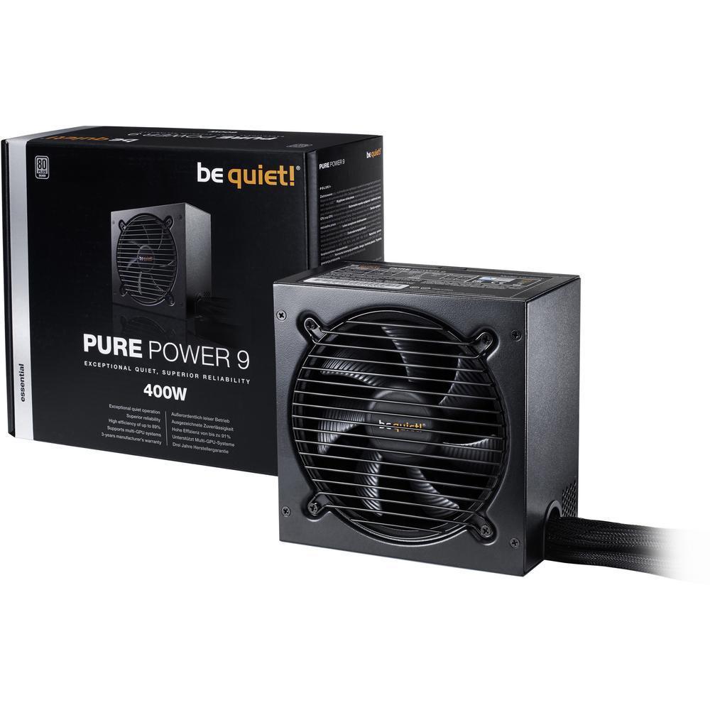 be quiet! Pure Power 9 Netzteil (80+ Silber) mit 400W für 44,99€ & mit 500W für 54,99€ [Conrad]