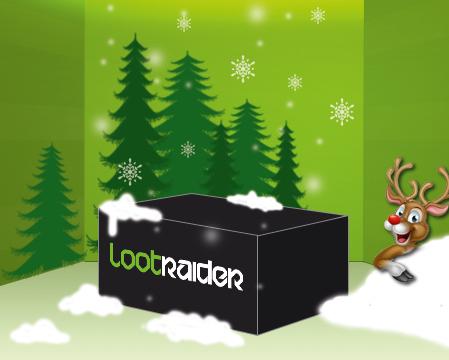 Christmas Special - Überraschungsbox zum halben Preis (lootraider.de)
