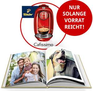"""[Fotokasten] Fotoprodukt im Wert von mind. 49€ zzgl. VSK bestellen & """"Tchibo Cafissimo PICCO"""" geschenkt bekommen"""