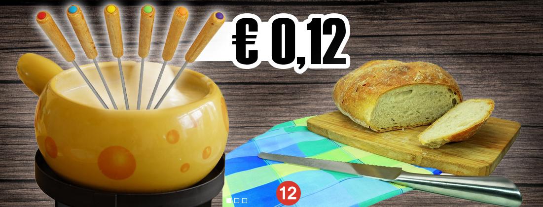 Silit Fondue-Gabeln 6 Stück neutral für nur 0,12 + VSK bei top12.de