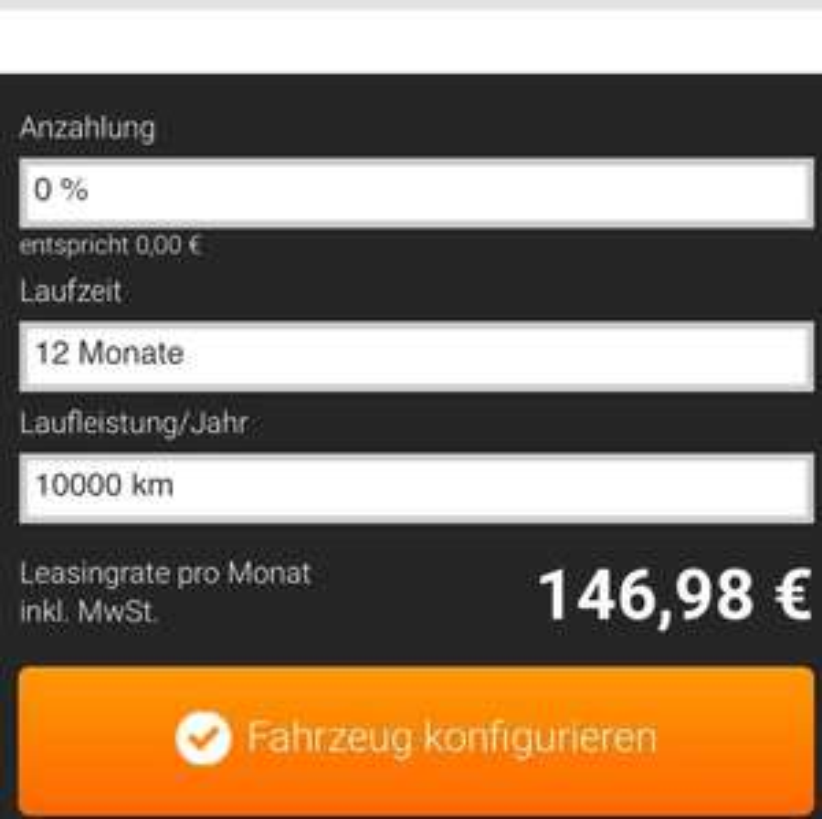 PREISFEHLER! - Infiniti Q70 für 146,98€ bei Sixt Leasing