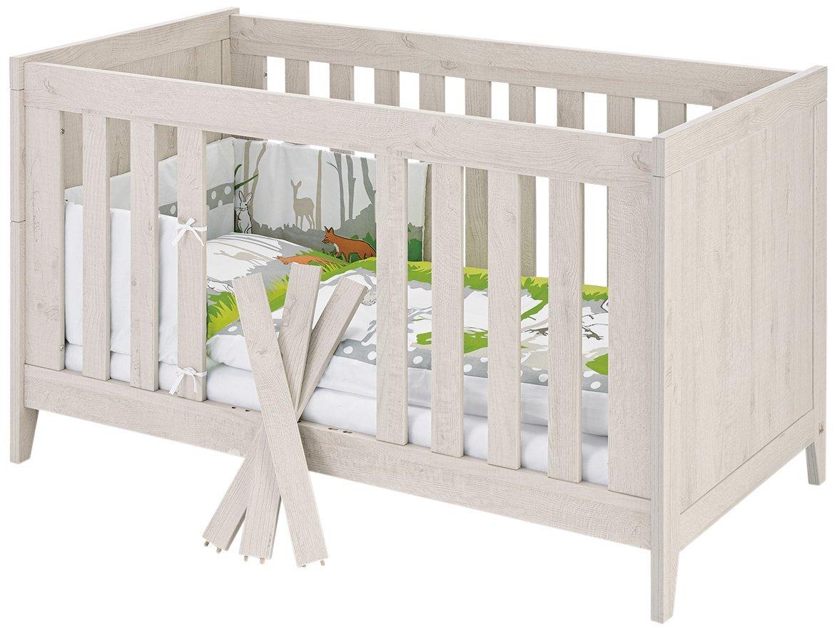 Kinderbett Madita von Pinolino in Eiche grau für 137 statt 276 € [Amazon]