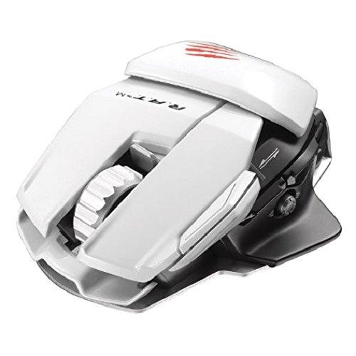 28,99€ inkl. Versand Mad Catz R.A.T.M Wireless Mobile Gaming Maus für PC, Mac und mobile Endgeräte - Weiss