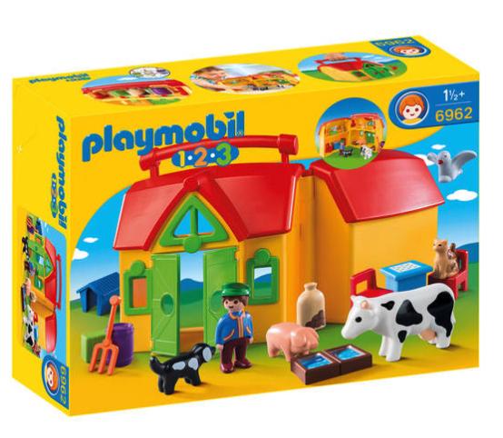 20% Rabatt ab 2 Playmobil oder Schleich Produkten im Warenkorb bei [GALERIA Kaufhof] z.B. Playmobil 123 Bauernhof + Streichelzoo für 32,38€ bei Abholung