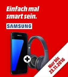 Samsung Galaxy S7/Edge 32GB + Samsung LEVEL ON WL PRO für 549€/649€