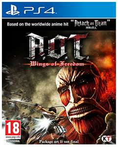 (Shopto) A.O.T Wings of Freedom (PS4/Xbox One) für 26,51€