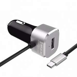 BlitzWolf® BW-C3 (5V / 5,4A, USB Typ-C, Quickcharge) Car Charger für 3,35€ [Banggood]